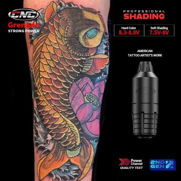 CNC Q5 Professional Rotary Tattoo Pen Kit High Quality Cartridge Needles Wireless tattoo
