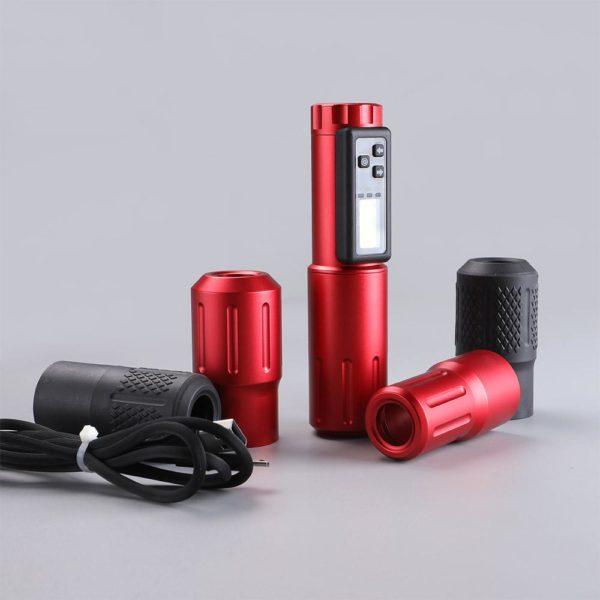 EM158-2 wireless tattoo machine pen