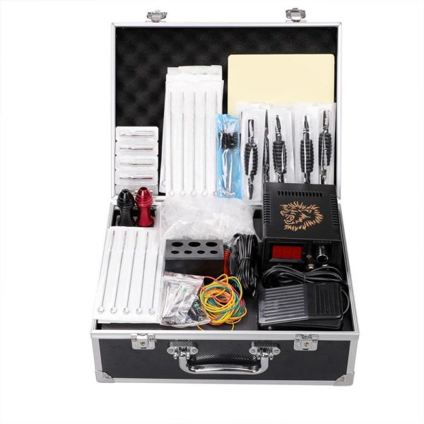 SOLONG Coil Tattoo Machine Kit package